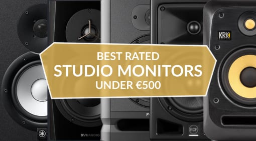 The 10 best rated studio monitors under €500
