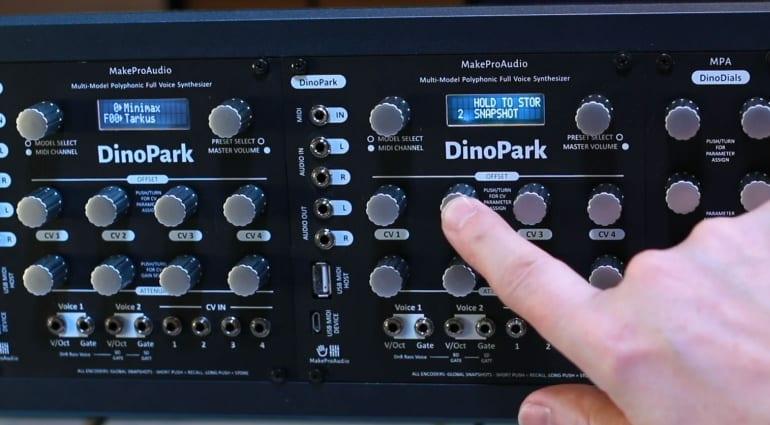 MakePro X DinoPark Eurorack