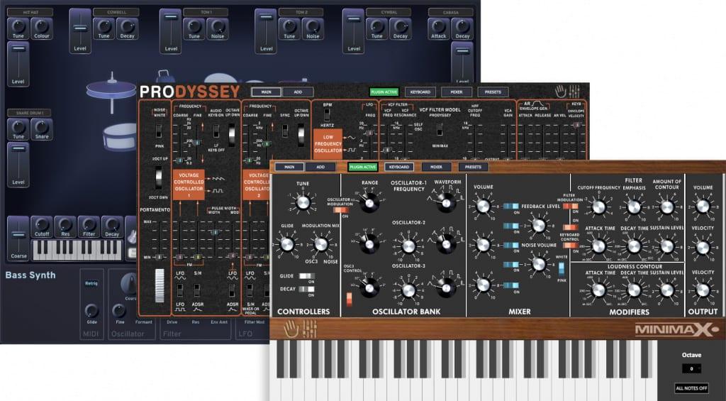 MakePro X DinoPark Eurorack Synths
