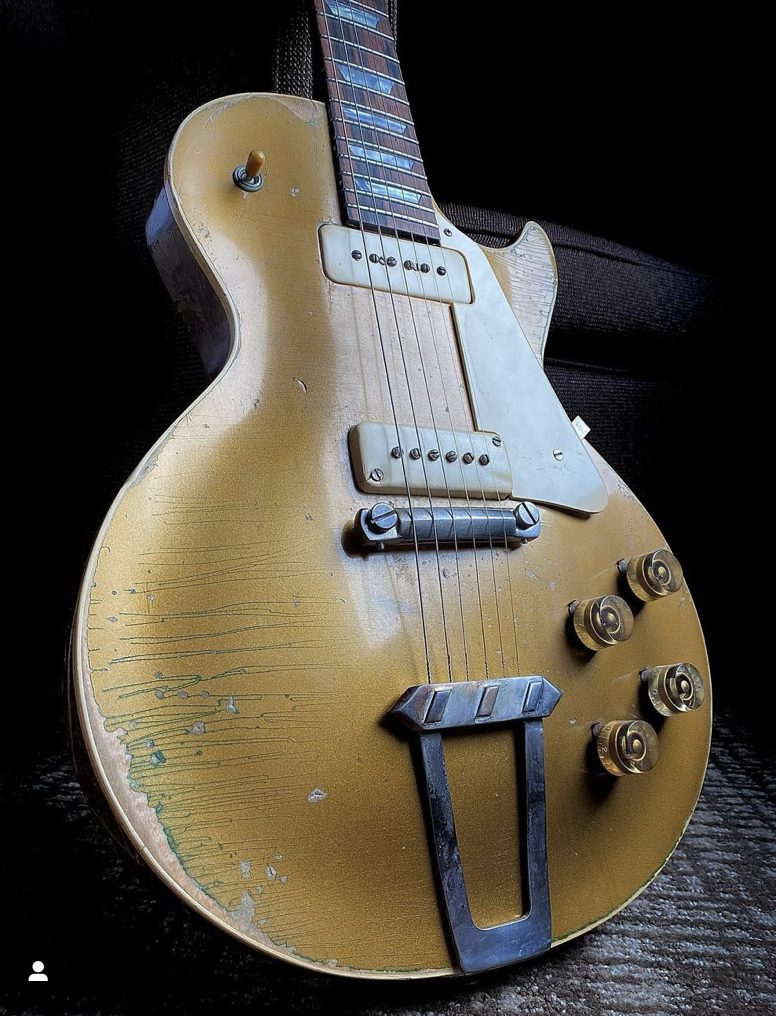 Dorothy the restored 1952 Gibson Les Paul Goldtop