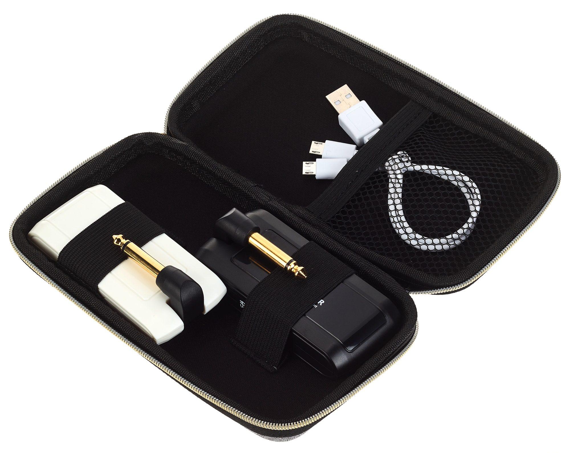 Harley Benton AirBorne 5.8 GHz Instrument comes in a handy travel case