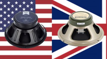 How to choose a speaker for your guitar amp