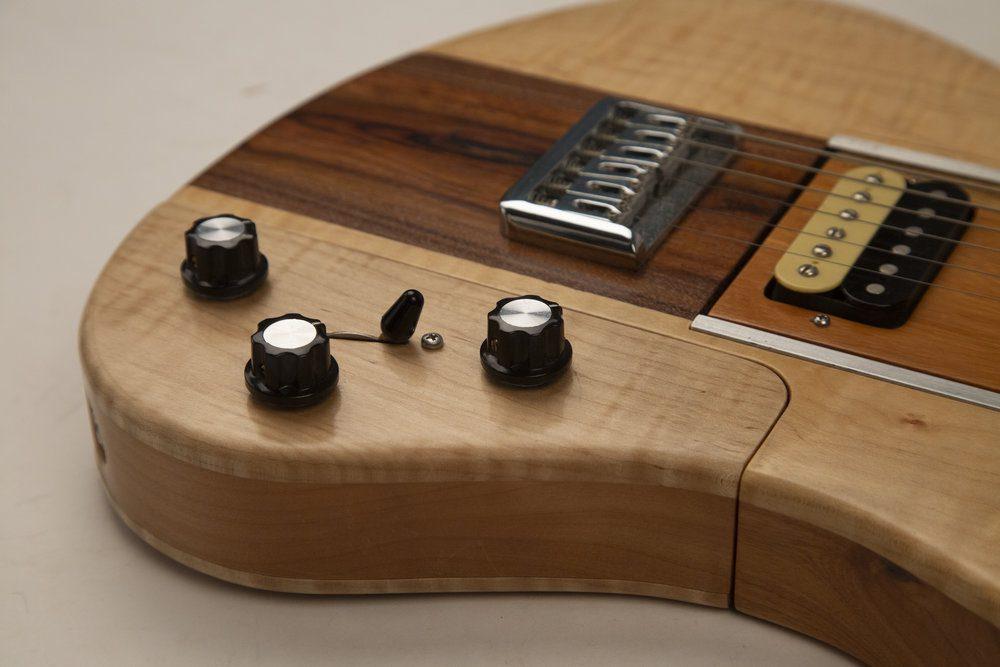 Reddick Guitars Voyager Modular Guitar control module