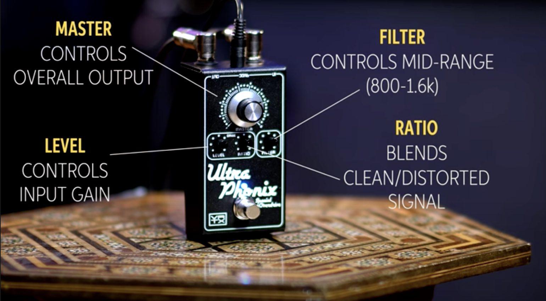 Vertex Effects Ultraphonix MkII control layout