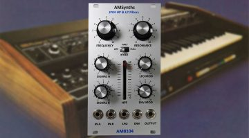 AMSynths AM8104 JP04 VCF