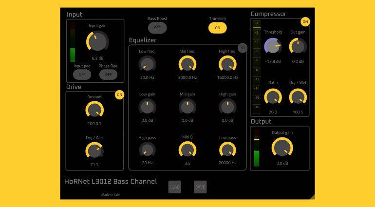 HoRNet Plugins L3012 Bass Channel