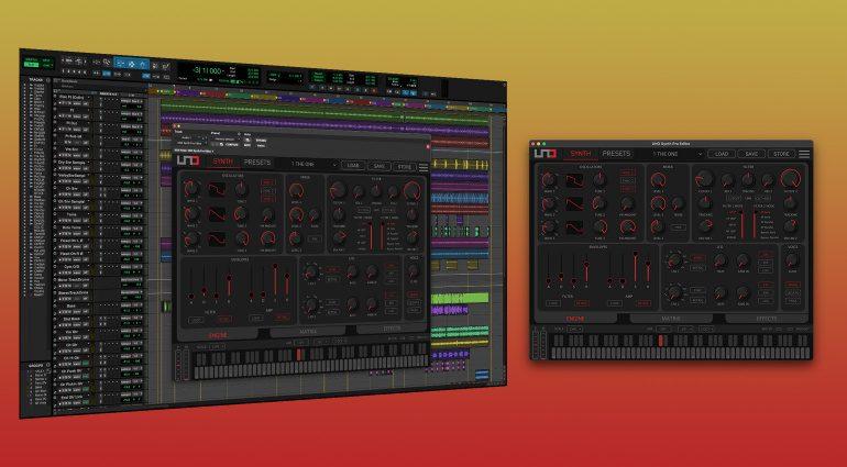 IK Multimedia UNO Synth Pro Editor