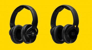 KRK KNS 6402 and KNS 8402 headphones