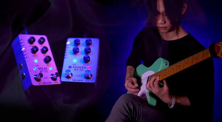 Mooer updates X2 Series with D7 X2 Delay and R7 X2 Reverb