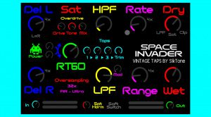 Siktone DSP Space Invader