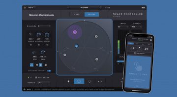 Sound Particles Space Controller
