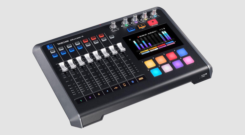Tascam Mixcast 4 angle