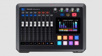 TASCAM Mixcast 4 featured