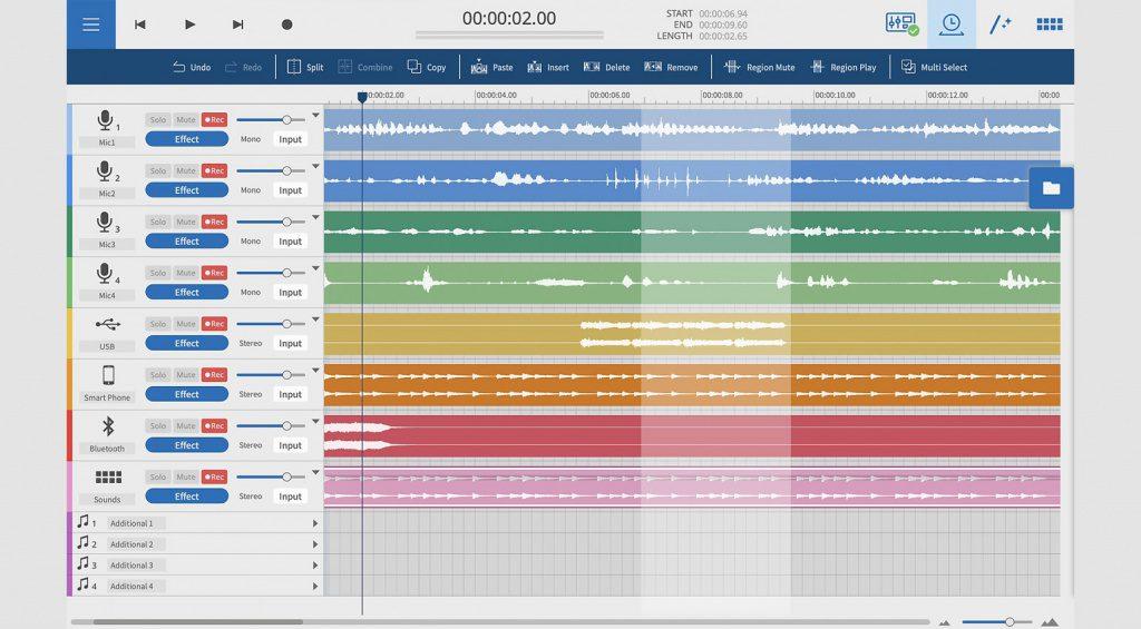 Tascam Podcast Editor software