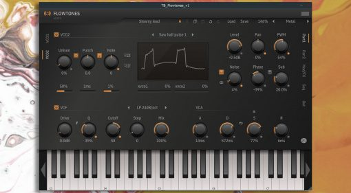 ToneBooster Flowtones main page