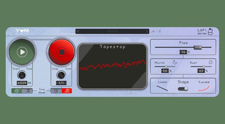 Yum Audio LoFi Tapestop