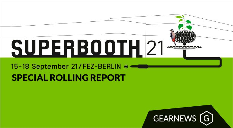 Superbooth synthesizer trade show FEZ Berlin