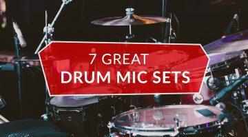Best Drum Mic Sets Sennheiser Shure Beyerdynamic tbone Behringer