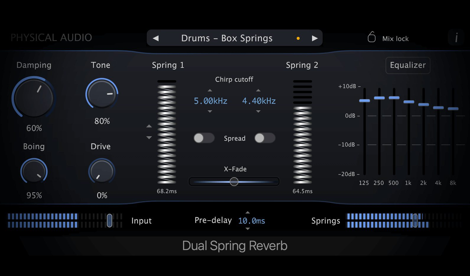 Dual Spring reverb