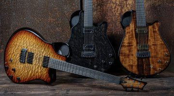 Emerald Guitars Virtuo hybrid electric and acoustic guitar