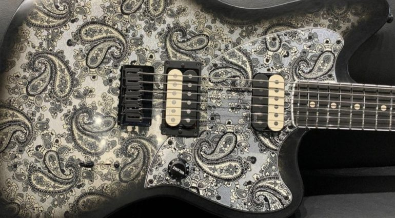 Fender Jim Root Black Paisley Jazzmaster