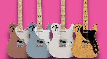 Fender Limited Collection F-Hole Telecaster Thinline