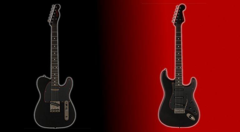 Fender Limited Edition Noir 2021 MIJ models