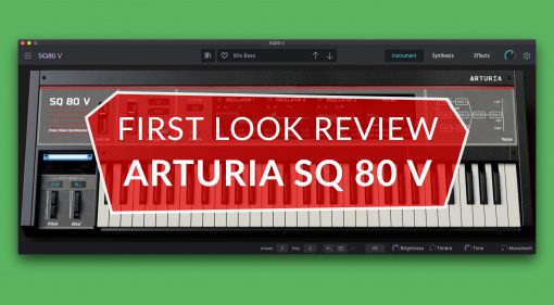 First Look Review Arturia SQ 80 V synthesizer