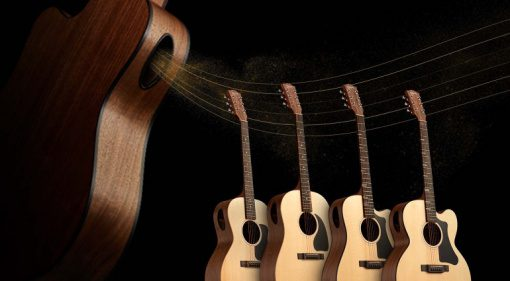 Gibson Generation Collection acoustics with new Player Port design