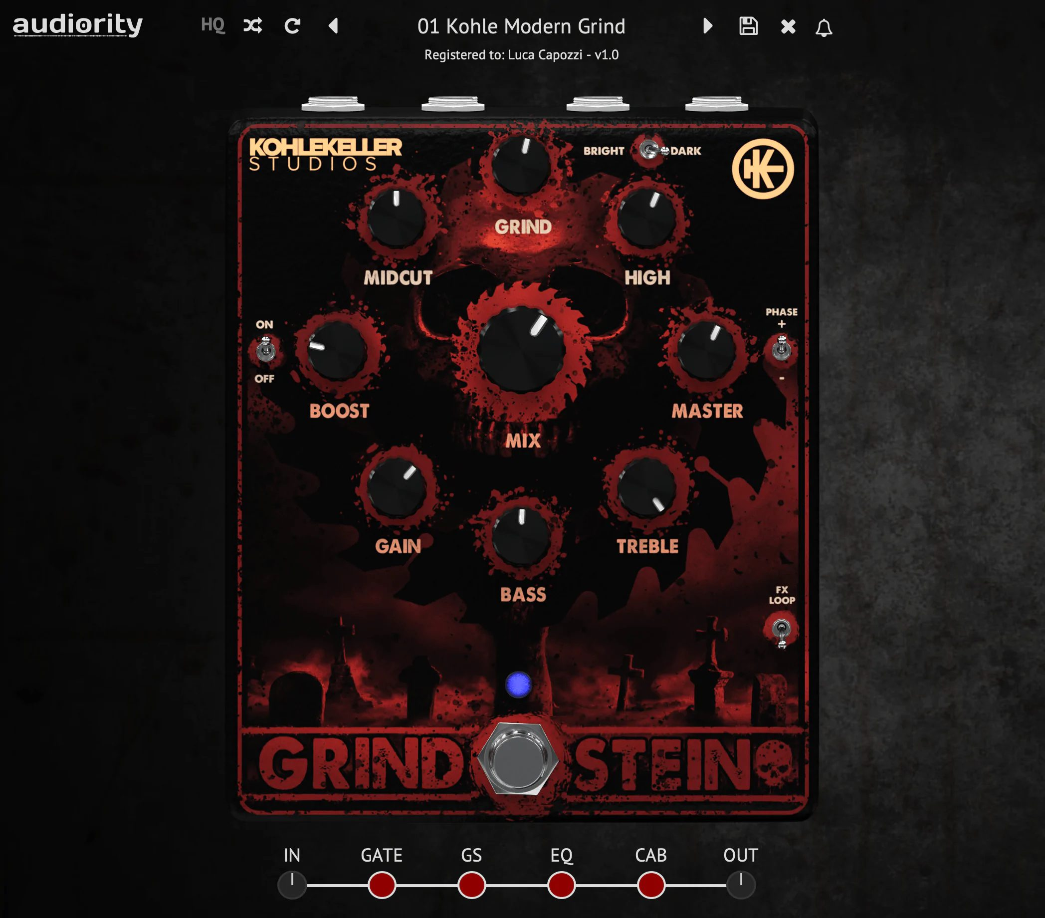 Audiority Grindstein