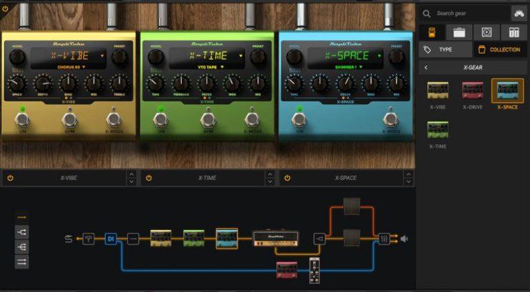IK Multimedia X-gear virtual pedals