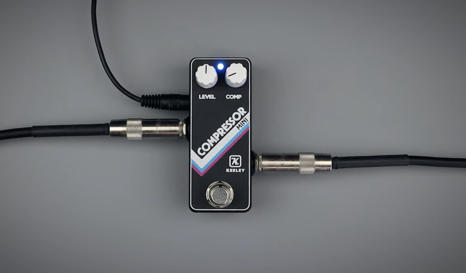 Keeley Compressor Mini is super simple to operate