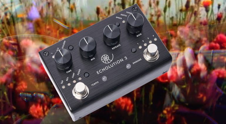 Pigtronix Echolution 3 Stereo Multi-Tap Delay
