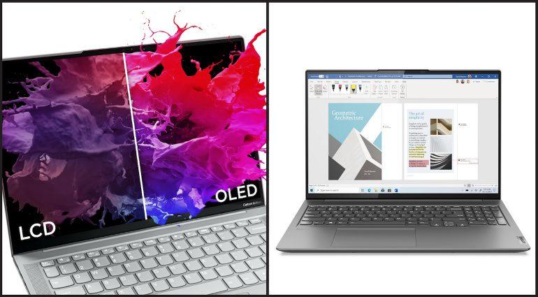 Lenovo's new Yoga series laptops.