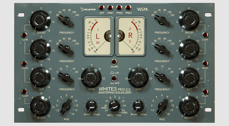 Acustica Audio White3