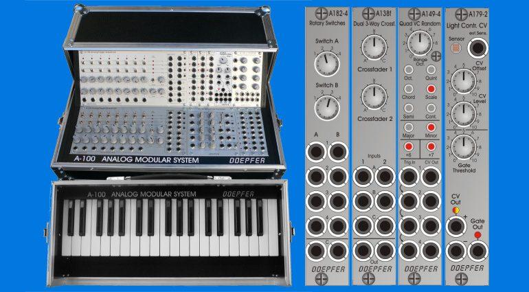 Doepfer A-100PBK and Slimline modules