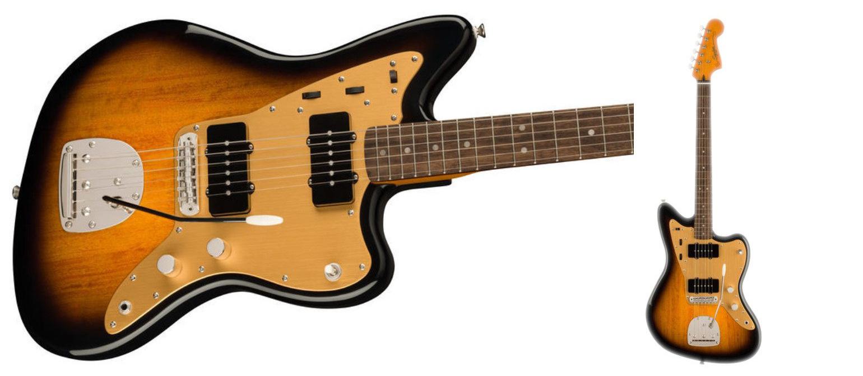 Squier CV Late '50s Jazzmaster in two tone sunburst