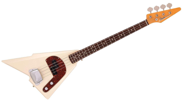 Fender Katana Bass in Olympic White