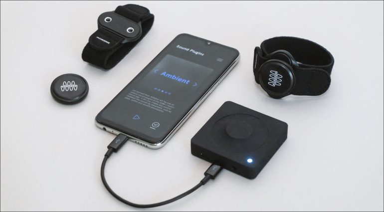 The new SOMI-1 system with its receiver hub.