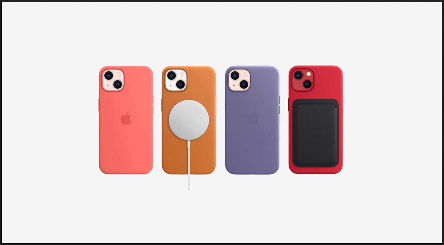 The iPhone 13 range of accessories
