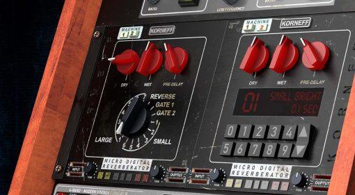 Korneff Audio Micro Digital Reverberator