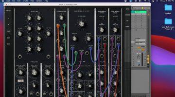 Moog Model 15 in Ableton Live