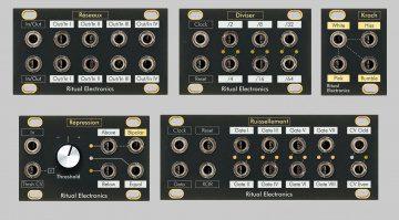 Ritual Electronics 1U modules