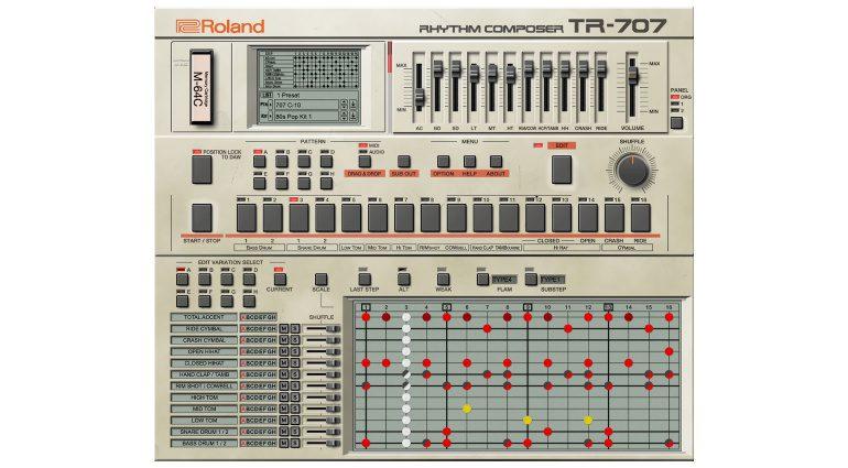 Roland TR-707 VST