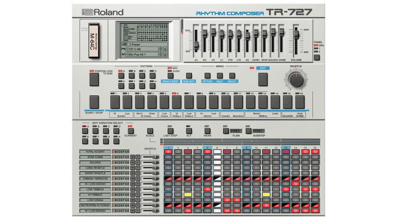 Roland TR-727 VST