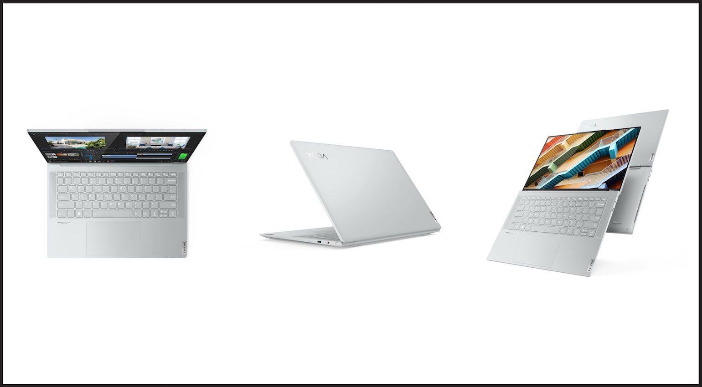 Lenovo's new Yoga Slim 7 Carbon laptop.
