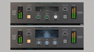 SSL Fusion Vintage Drive and Fusion Stereo Image
