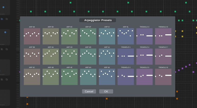 1BitDragon Arp options