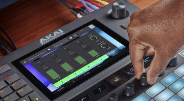 AKAI Force firmware 3.1