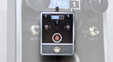 Acorn Amplifiers has launched the new TMA-1 fuzz pedal